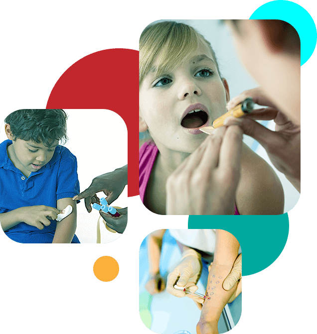 Providing treatment and investigation for a wide range paediatric conditions.